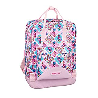 51af82SLSdL. SS324  - Moos  Flamingo Pink Oficial Mochila Con Asas, 270x130x380mm