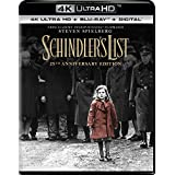 Schindler's List (Uncut) [4K Ultra HD/Blu-ray] (1993) | Imported from USA | Universal Studios | 196 min | IMDB Top 250 Dolby Atmos | Director: Steven Spielberg | Starring: Liam Neeson, Ben Kingsley