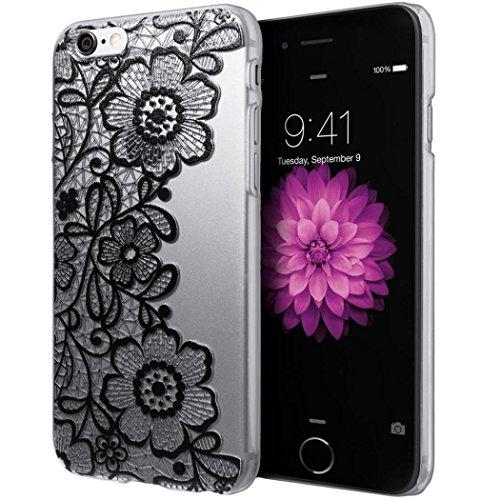 Cover Per iPhone 5S/SE,Hippolo Custodia Protettiva Shell Case Cover Per iPhone 5S/SE in Silicone TPU (Per iPhone 5S/SE, 8) 3