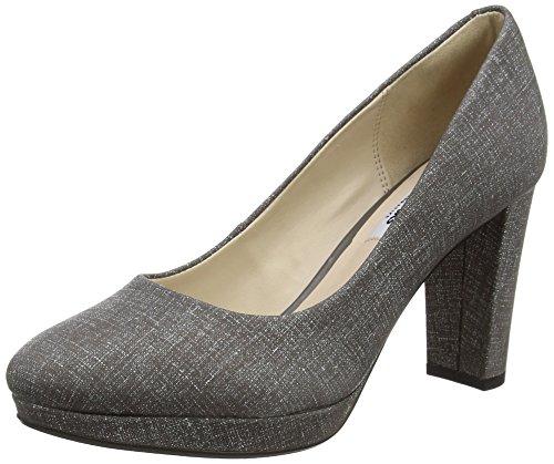 Clarks Damen Kendra Sienna Pumps, Grau (Grey), 40 EU