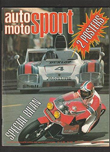 Auto Moto Sport n° 86 de décembre 1977 / janvier 1978 par Collectifs