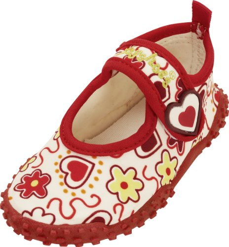 Playshoes Uv Protection Aqua Hearts Bathing Shoe, Sandales Fille