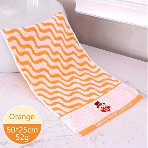 ZTMN Handtücher handtücher aus Fester Baumwolle Cartoon Cute kindertuch aus Fester Baumwolle saugfähig small wash face 4 (Farbe: c)