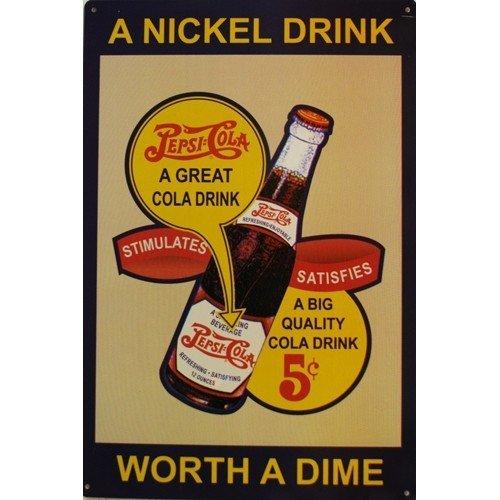 pepsi-cola-targa-in-metallo-nichel-drink-by-pepsico