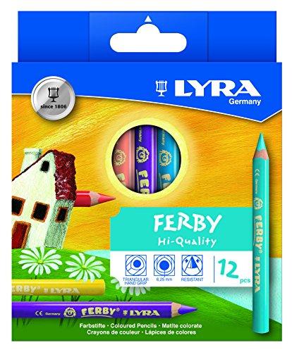 LYRA Ferby Kartonetui mit 12 Farbstiften, Sortiert