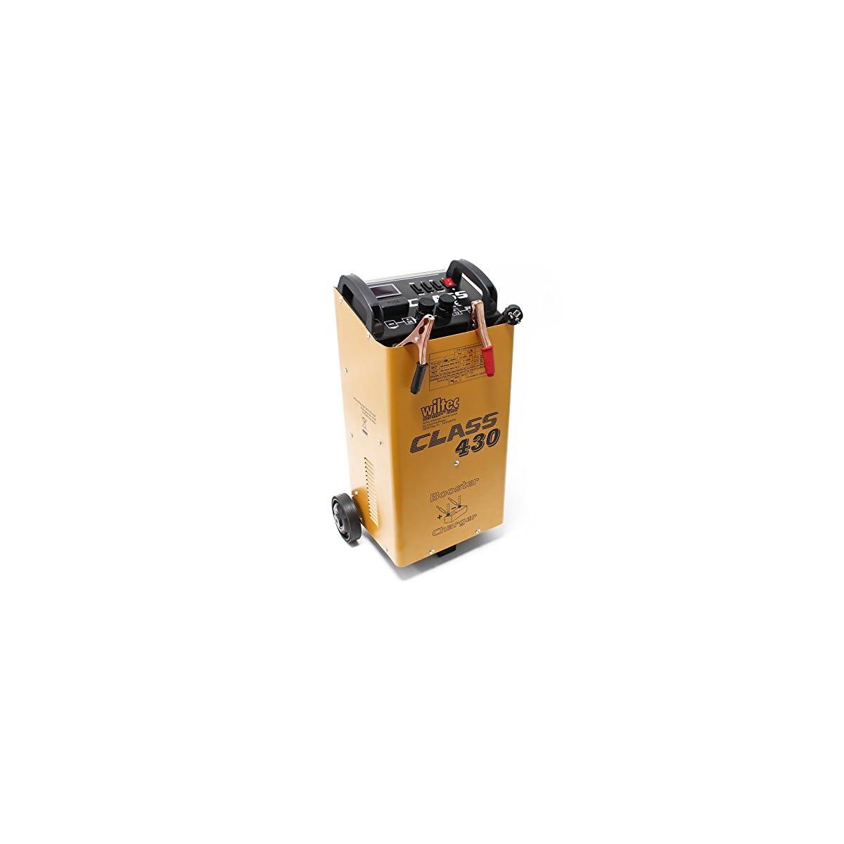 51afDkpt%2BUL. SS1200  - WilTec Boost 430 cargador arrancador carga bateria arranque 12V 24V Motocicleta Camión