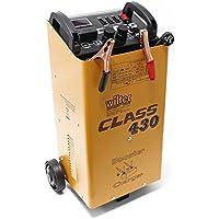 WilTec Boost 430 cargador arrancador carga bateria arranque 12V 24V Motocicleta Camión