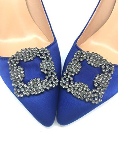 MERUMOTE - Tacco a spillo Donna Blu (blu)