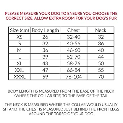 Phunky Pets Waterproof Dog Coat Jacket, Fleece Lined For Warmth, Chest Protector, Reflective Piping For Night Safety… 2