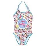 Soy Luna Mädchen Badeanzug Gr. 6 Jahre, blau