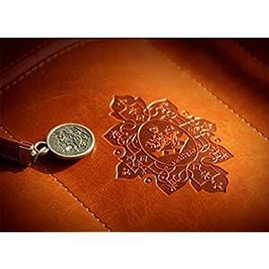 51afGVoQfcL. SS300  - Amison Caja LáPices Resumen Estilo Vintage Bolso Del LáPiz BolíGrafo-Cuero PU