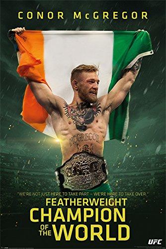 UFC Conor McGregor Featherweight Champion Maxi-Poster, mehrfarbig
