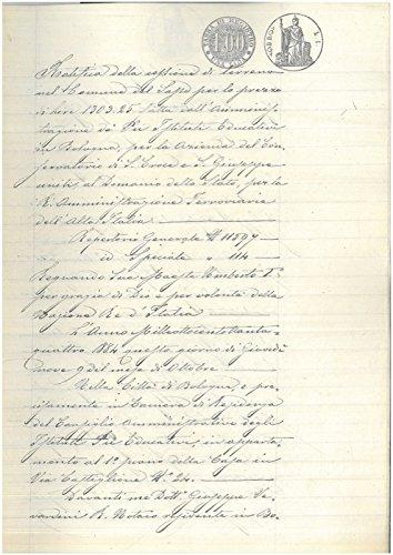 Ratifica della cessione di terreno sito nel Comune di Praduro e Sasso, Bologna