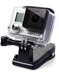 XCSOURCE® 360 Grados Giratorio Hebilla Sombrero Hat Rec-Montes Clip Montaje de Abrazadera para GoPro Hero 2 3 3+ 4 OS101