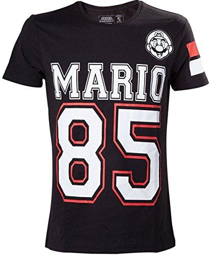 Nintendo Super Mario Bros. Mario 85 Streetwear American Football Jerse
