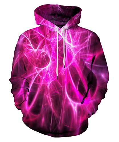 EOWJEED 3D Digitaldruck Hoodie Sweatshirt Jacke XX-Large