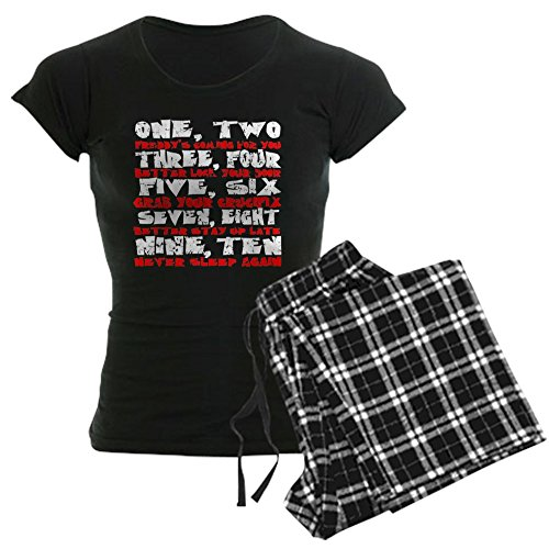 CafePress Freddy Krueger Rhyme - Womens Novelty Cotton Pajama Set, Comfortable PJ Sleepwear