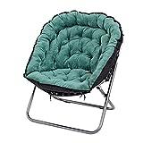 TY Lazy Sofa Einzigen Doppel-Sofa Schlafzimmer Wohnzimmer Klappstuhl Liegesessel Klappstuhl (Farbe : M)