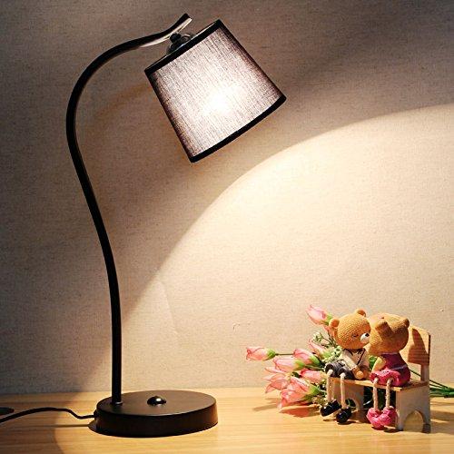 Sencillo y moderno de estilo nórdico dormitorio de diseño creativo Lampara LED...