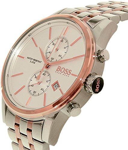 Men S Watches Hugo Boss Men S 1513385 Silver Stainless Steel