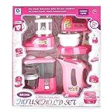 #4: Techhark Home appliances set for kids Multi-color