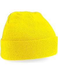 Beechfield - Winter Strickmütze / Yellow, Einheitsgröße Einheitsgröße,Yellow