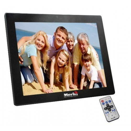 Largest Sized Digital 15″ Photo Frame which Looks Great in Any Home Or Office Saving Your Pictures forever/2GB Built-in Storage