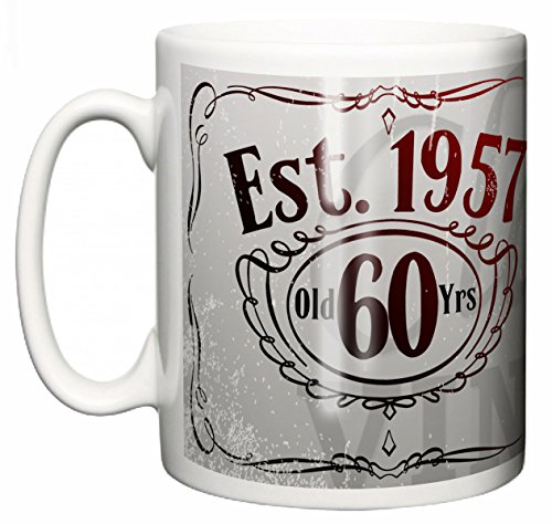 IiE, I'm a Classic Vintage, 60 years Aged to perfection, Est. 1957 Tazza Compleanno per tè o caffé