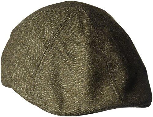 Bailey Herren Schirmmütze Waddell, Grün (Olivgrün), Small (Newsboy Bailey)