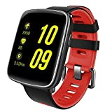 KOBWA Fitness Armband - Smartwatch - Fitness Tracker IP68 Swimproof