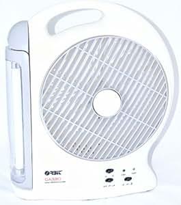 Orbit Gazebo 203mm Fan with Light (Grey)