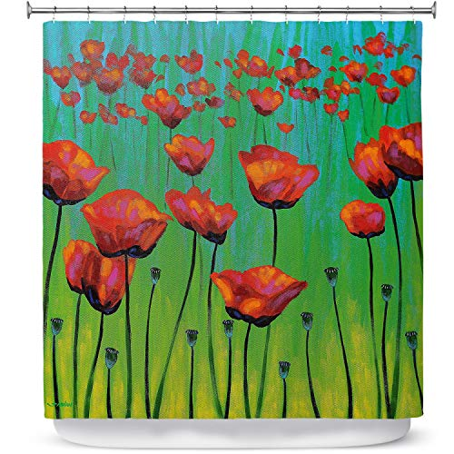 DiaNoche Designs - Cortinas de Ducha para baño
