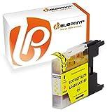 Bubprint Druckerpatrone kompatibel für Brother LC-1280 XL LC1280XLY LC 1280XL für MFC-J430W MFC-J5910DW MFC-J6510DW MFC-J6710DW MFC-J825DW Gelb Yellow