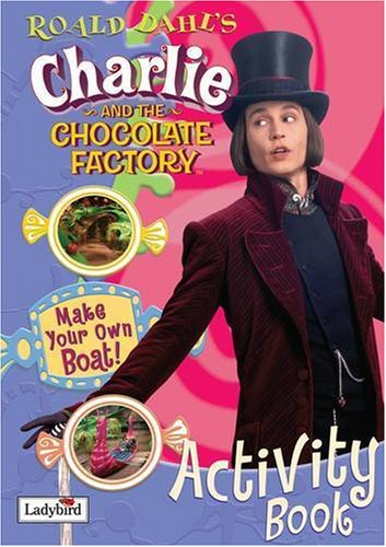 Charlie and the chocolate factory activity book.