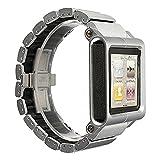 SODIAL(R)Aluminium Montre Sangles pieces multiples tactiles pour iPod Nano 6eme...