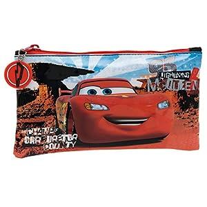 Disney Cars Neceser de Viaje, 0.76 litros, Color Rojo