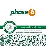 phase6 - mehr als ein Vokabeltrainer - Schachtel mit Codekärtchen und Infobroschüre: 1 Jahr...