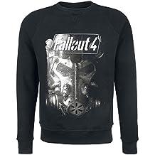 Fallout 4 - Brotherhood Of Steel Jersey Negro M