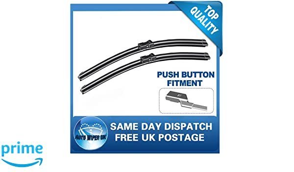 VAX ANT Windscreen Wiper Blades x 2 Front Set Fits to REG 2007 TO 2016
