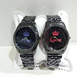 Coppia Di Orologi Da Polso You And Me King & Queen BE COLOR (NERO)