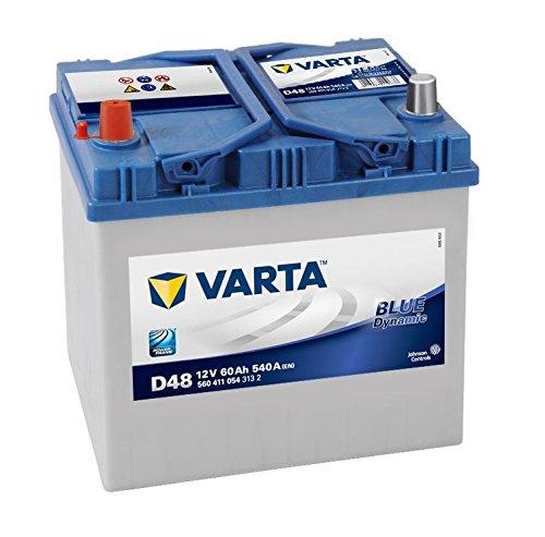 Varta D48 Batteria 60Ah 560 411 054 auto