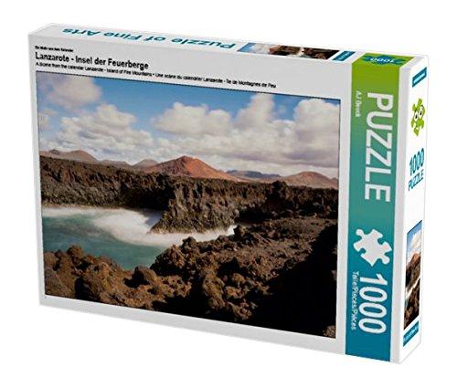 Preisvergleich Produktbild Ein Motiv aus dem Kalender Lanzarote - Insel der Feuerberge 1000 Teile Puzzle quer (CALVENDO Natur)