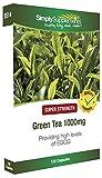 Tè Verde 1000 mg - 120 Capsule - Fino a 40 giorni di fornitura - Favorisce la Perdita di Peso - SimplySupplements