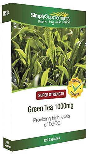 Tè Verde 1000 mg - 120 Capsule - SimplySupplements