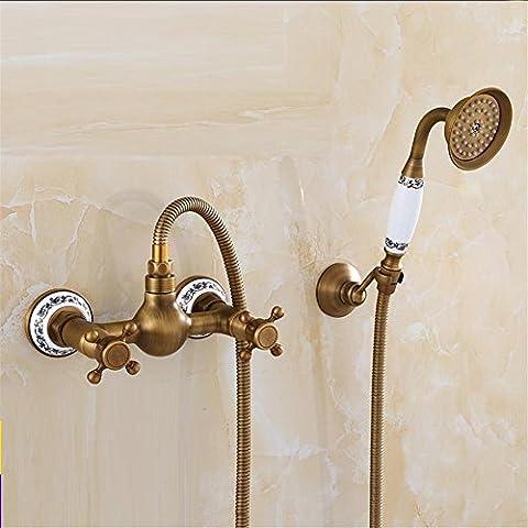 Full Of Copper European Antique Shower Shower Suit Retro Hot