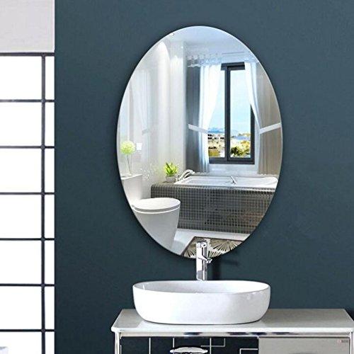 DSC Espejo Espejo Baño Espejo Ovalado Espejo Pared Espejo Espejo Baño Espejo Redondo ( Tamaño : 60*80cm )