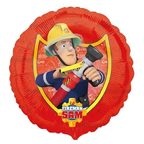 feuerwehrmann sam geburtstag et Amscan 3013301 - Folienballon Feuerwehrmann Sam, Spiel