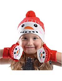 Rjm - Ensemble bonnet, écharpe et gants - Fille