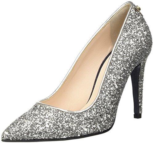 Trussardi Jeans 79S29151, Scarpe con Tacco Donna, Argento (Silver Glitt), 38 EU