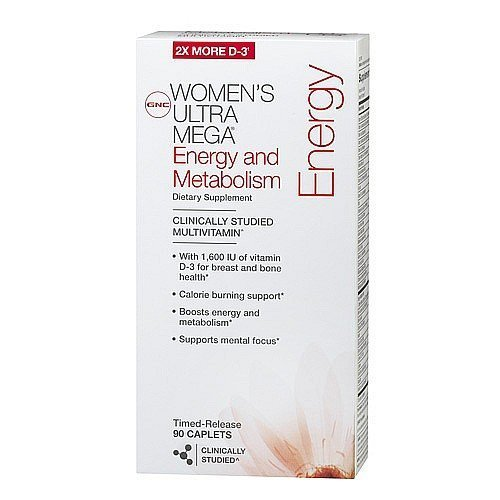 gnc-womens-ultra-mega-energy-metabolism-multivitamin-timed-release-caplets-90-ea-by-unknown
